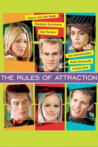 "Poster for the movie ""The Rules of Attraction"""