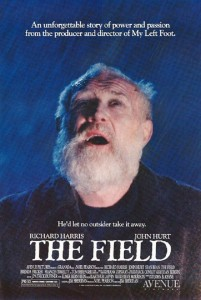 "Poster for the movie ""The Field"""