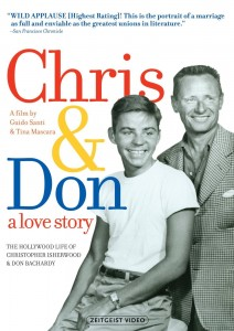 "Poster for the movie ""Chris & Don - A Love Story"""