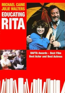"Poster for the movie ""Educating Rita"""