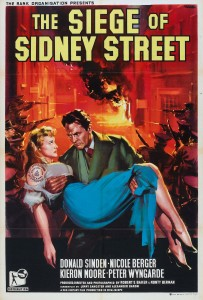"Poster for the movie ""The Siege of Sidney Street"""