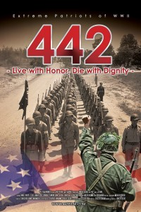 "Poster for the movie ""442: Live with Honor, Die with Dignity"""