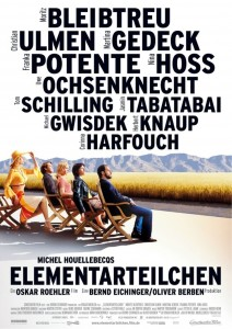 "Poster for the movie ""The Elementary Particles"""