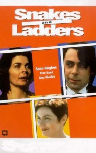 "Poster for the movie ""Snakes and Ladders"""