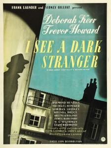 """Poster for the movie """"I See a Dark Stranger"""""""