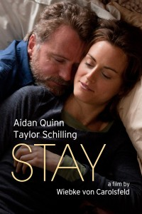 "Poster for the movie ""Stay"""
