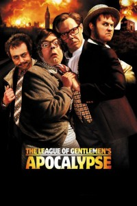 "Poster for the movie ""The League of Gentlemen's Apocalypse"""