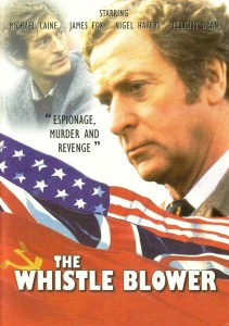"Poster for the movie ""The Whistle Blower"""