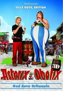 "Poster for the movie ""Astérix and Obélix: God Save Britannia"""