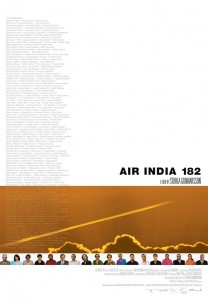 "Poster for the movie ""Air India 182"""