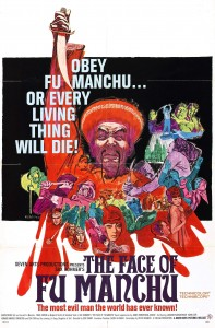 "Poster for the movie ""The Face of Fu Manchu"""