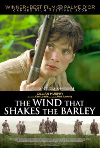 "Poster for the movie ""The Wind That Shakes the Barley"""