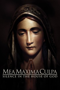 "Poster for the movie ""Mea Maxima Culpa: Silence in the House of God"""
