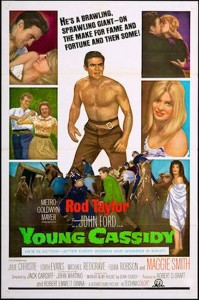 "Poster for the movie ""Young Cassidy"""