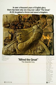 """Poster for the movie """"Alfred the Great"""""""