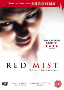 "Poster for the movie ""Red Mist"""