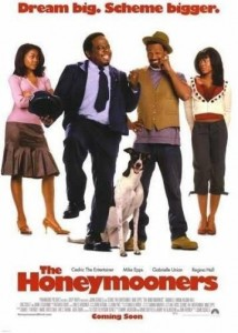 "Poster for the movie ""The Honeymooners"""