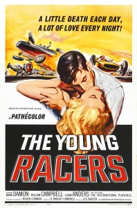 "Poster for the movie ""The Young Racers"""