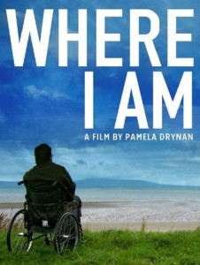 "Poster for the movie ""Where I Am"""