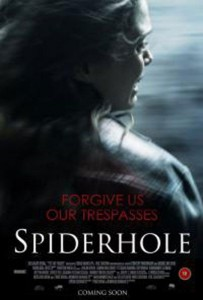 """Poster for the movie """"Spiderhole"""""""
