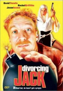 "Poster for the movie ""Divorcing Jack"""