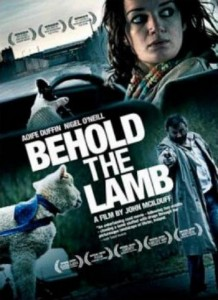 "Poster for the movie ""Behold The Lamb"""