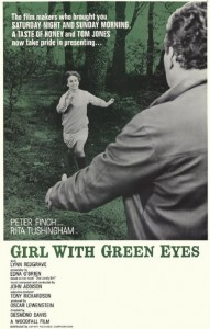 "Poster for the movie ""Girl with Green Eyes"""
