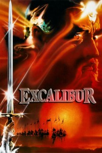 "Poster for the movie ""Excalibur"""