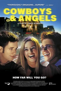 """Poster for the movie """"Cowboys & Angels"""""""