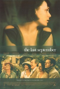 "Poster for the movie ""The Last September"""