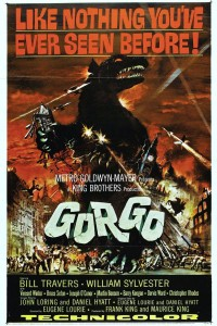 "Poster for the movie ""Gorgo"""
