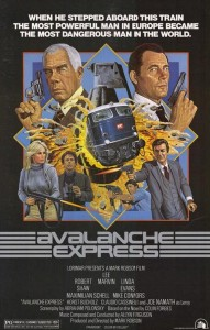 "Poster for the movie ""Avalanche Express"""