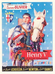 "Poster for the movie ""Henry V"""