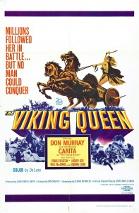 "Poster for the movie ""The Viking Queen"""