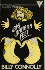 "Poster for the movie ""Big Banana Feet"""