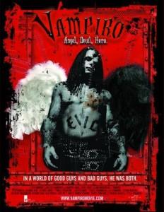 """Poster for the movie """"Vampiro: Angel, Devil, Hero"""""""