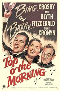 """Poster for the movie """"Top o' the Morning"""""""