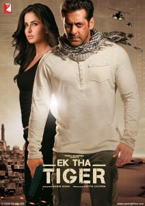 "Poster for the movie ""Ek Tha Tiger"""