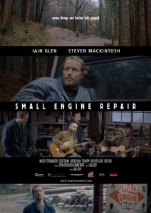 "Poster for the movie ""Small Engine Repair"""