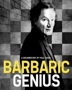 Poster for Barbaric Genius