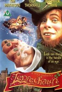 "Poster for the movie ""A Very Unlucky Leprechaun"""