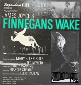 "Poster for the movie ""Passages from James Joyce's Finnegans Wake"""