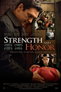 "Poster for the movie ""Strength and Honour"""