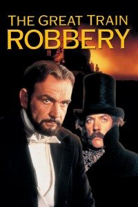 "Poster for the movie ""The First Great Train Robbery"""