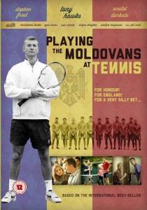 "Poster for the movie ""Playing the Moldovans at Tennis"""