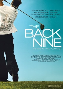 "Poster for the movie ""The Back Nine"""