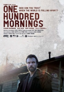 "Poster for the movie ""One Hundred Mornings"""