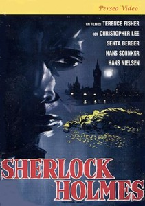 "Poster for the movie ""Sherlock Holmes and the Deadly Necklace"""