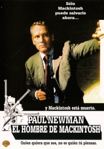"Poster for the movie ""The MacKintosh Man"""