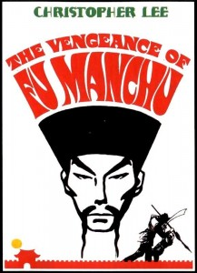 "Poster for the movie ""The Vengeance of Fu Manchu"""